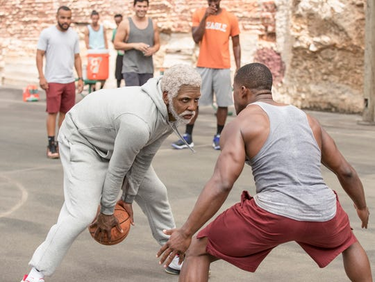 """Kyrie Irving stars in """"Uncle Drew."""" The movie opens"""