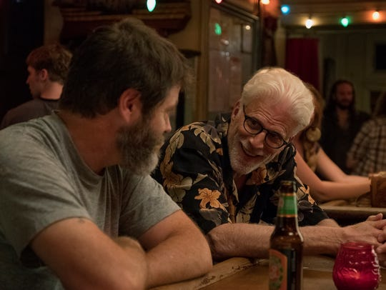 Nick Offerman and Ted Danson in Brett Haley's latest