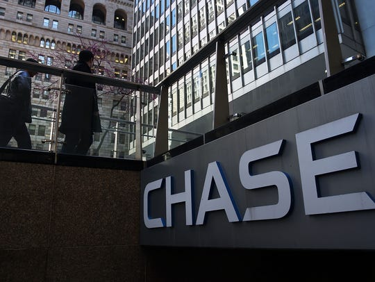 NEW YORK, NY - APRIL 15:  A Chase bank office stands
