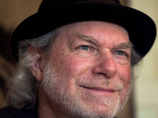 """Buddy Miller smiles while speaking to The Tennessean at his studio Friday, June 29, 2018, in Nashville, Tenn. Miller will be featured in the new series """"Americana at the Ryman"""" with Lee Ann Womack, Tony Joe White, The McCrary Sisters, Parker Millsap and Elizabeth Cook this summer at the Ryman Auditorium."""