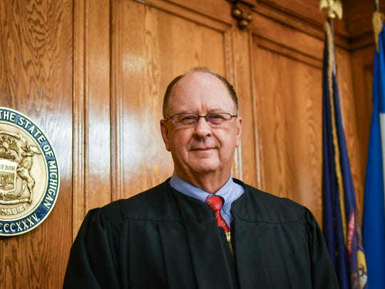 Ingham County Judge William Collette pictured in his