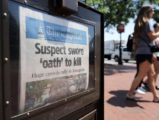Capital Gazette Newspaper