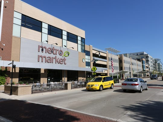The Shorewood Metro Market with an attached parking structure at 4075 N. Oakland Ave.