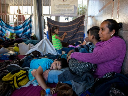Nogales asylum seekers