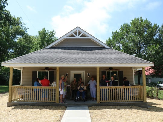Mildred Johnson received a new home through the City of Clarksville's Housing Rehabilitation Program.