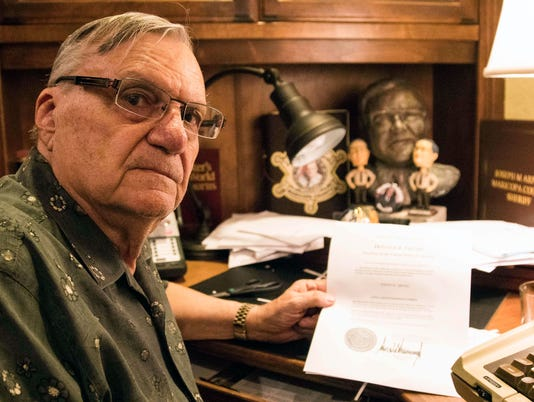USP NEWS: TRUMP ARPAIO PARDON USA AZ