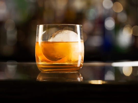 A Sazerac cocktail at Tavern 180.