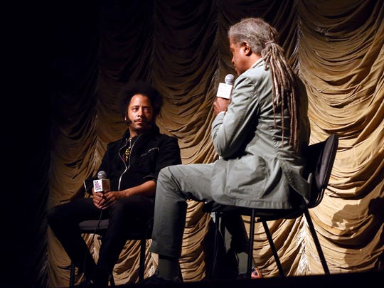 Film critic Elvis Mitchell interviews Boots Riley on