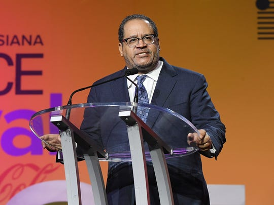 Michael Eric Dyson speaks onstage during the 2018 Essence Festival presented by Coca-Cola at Ernest N. Morial Convention Center on July 7, 2018 in New Orleans, Louisiana.