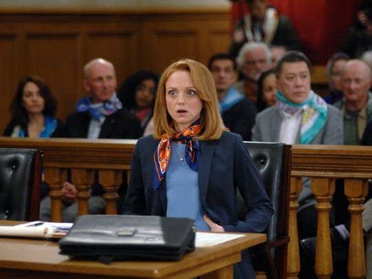 "Jayma Mays as Carol Anne Keane on ""Trial & Error: Lady,"