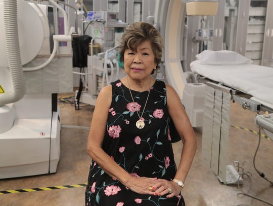 Fe Almo received a Watchman implant to treat her atrial