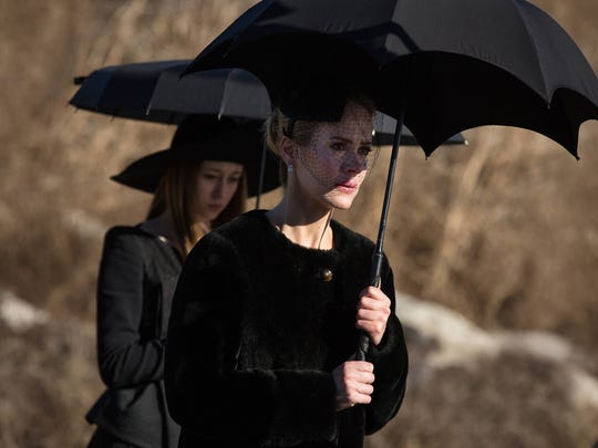 "Taissa Farmiga as Zoe and Sarah Paulson as Cordelia on ""American Horror Story."""