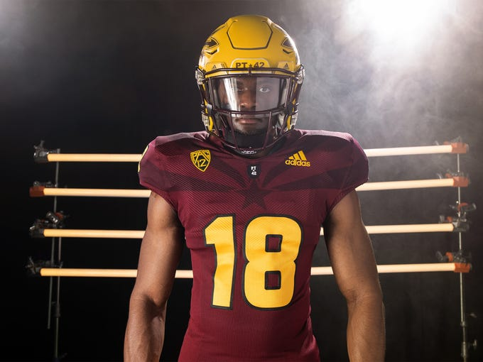 4253f393c New ASU football uniform features Arizona flag woven in jersey