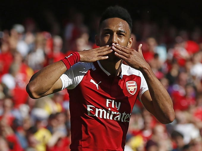 ARSENAL – Pierre-Emerick Aubameyang, forward