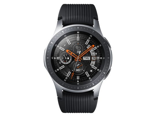 A 46mm Samsung Galaxy Watch.