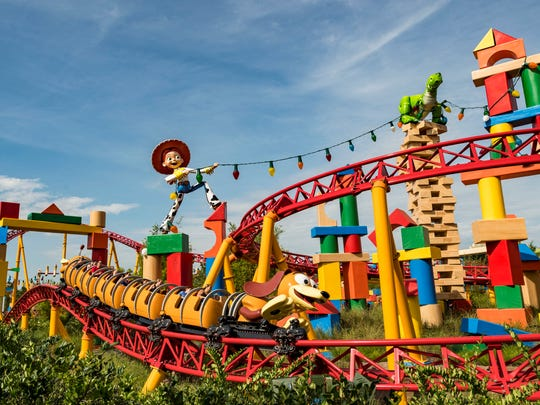 It's not going to get pulses racing nearly as ferociously as any of the other 2018 rides on the list, but Slinky Dog Dash at Disney's Hollywood Studios, part of Florida's Walt Disney World, wins the prize for the cutest coaster.