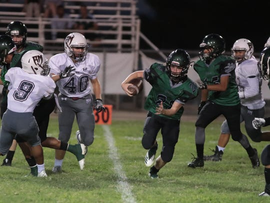 Rancho Mirage football plays Twentynine Palms, Twentynine