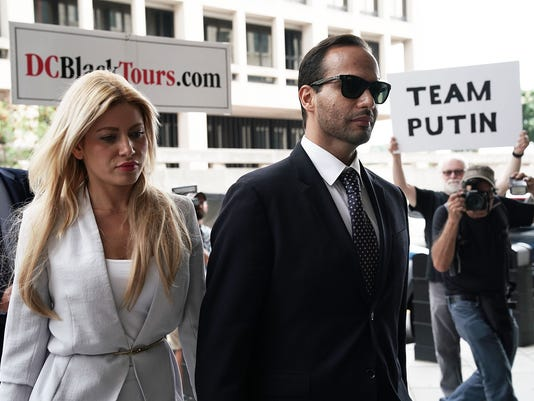 George Papadopoulos Sentenced For Making False Statements To FBI