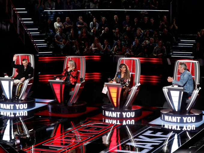 "NBC's singing competition show, ""The Voice,"" wrapped"