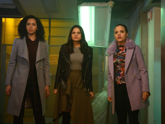"""The CW debuted its rebooted version of """"Charmed"""" in 2018 with Madeleine Mantock, Melonie Diaz and Sarah Jeffery as sisters who use their supernatural powers to fight evil."""