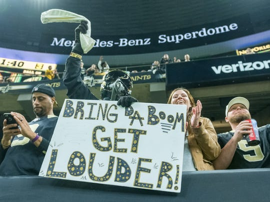 The crowd at the Mercedes-Benz Superdome on Sunday proved how important home-field advantage can be.