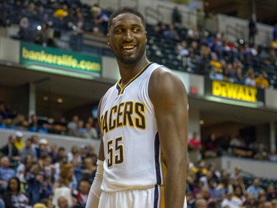 How much will we see Roy Hibbert smile this season?
