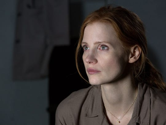 """Jessica Chastain, by way of some out-there space time and relativity ideas, plays Matthew McConaughey's daughter in """"Interstellar."""""""