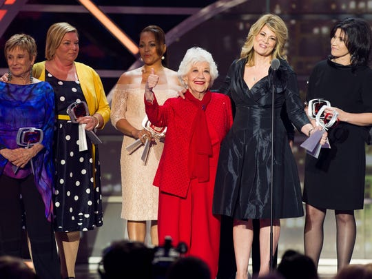 In this April 10, 2011, file photo, Cloris Leachman,