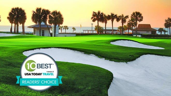 Myrtle Beach, S.C., was voted best golf destination in 10Best's Readers' Choice contest.