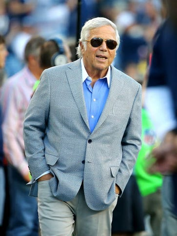 New England Patriots owner Robert Kraft did consent