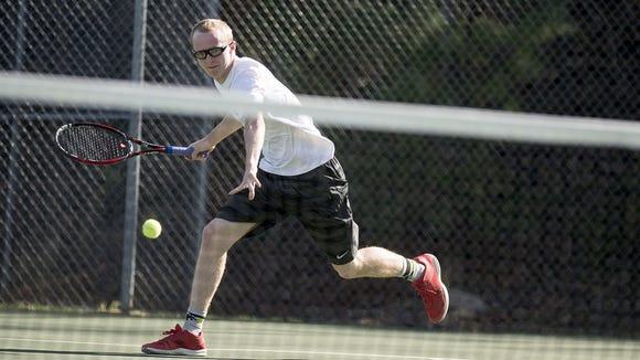 Roberson tennis player Coleman Baker.