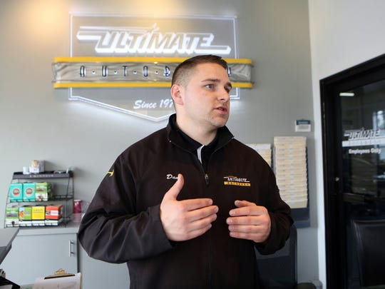 Dan Zimdahl, the general manager at Ultimate Auto Body at 304 E. Third St., also supports the idea of rezoning.
