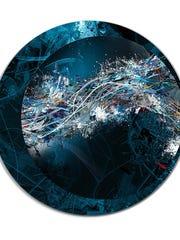 Wayne Charles Roth, Trance, 2014, Digital painting, 1/3.