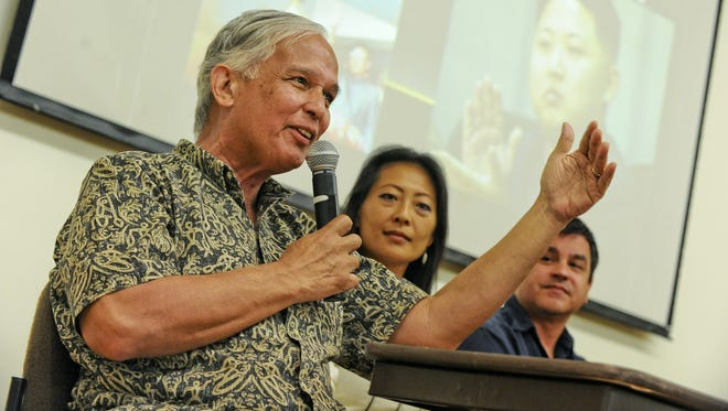 University of Guam President Robert Underwood