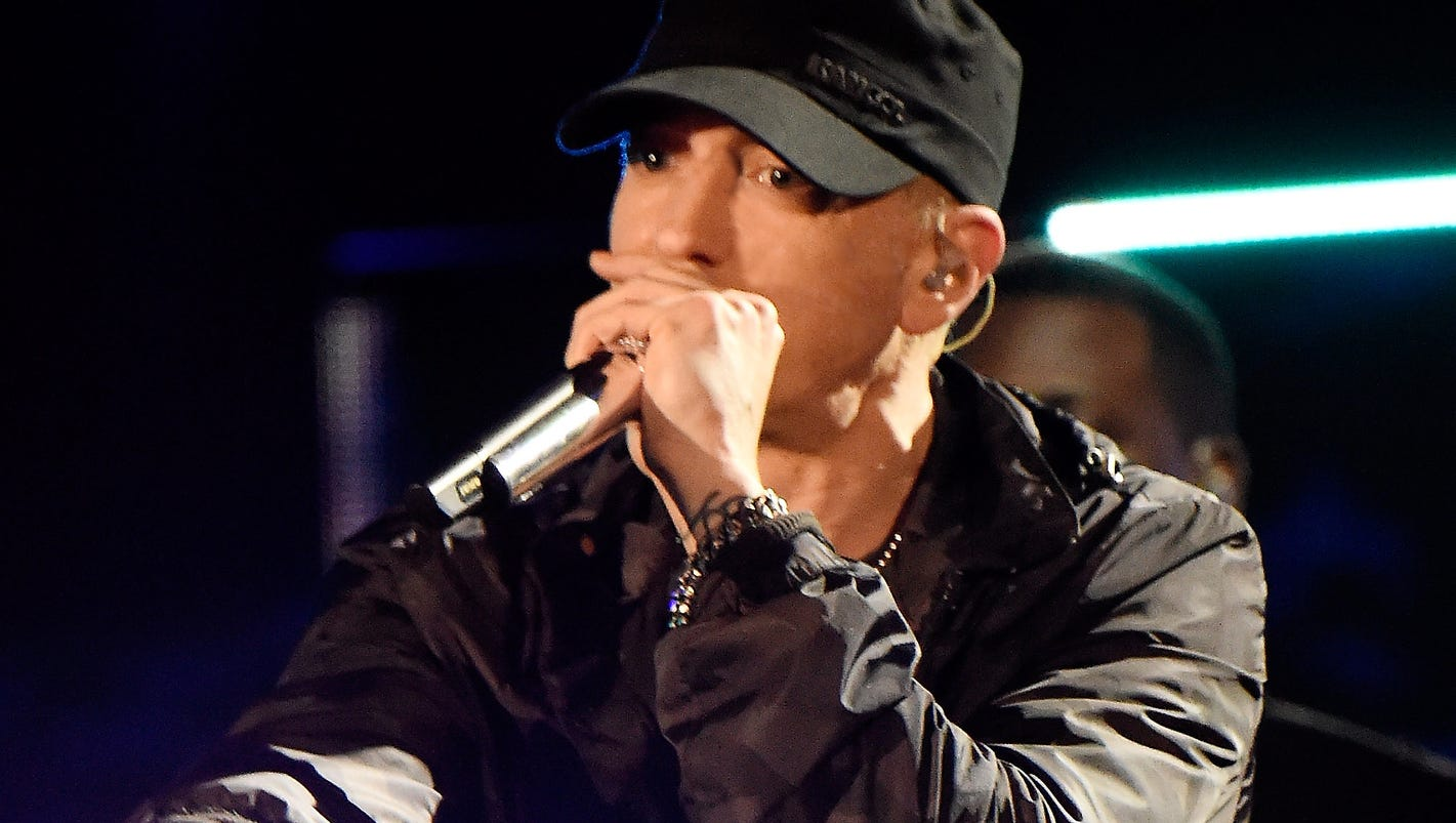 is eminem right music in today Eminem - my name is file help my name is is a song by american rapper eminem from his major-label debut album the slim shady lp (1999) music video the video premiered on mtv total request live on january 21, 1999.