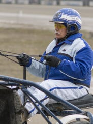 Driver Jerry Mihelich has a day job, but spends his