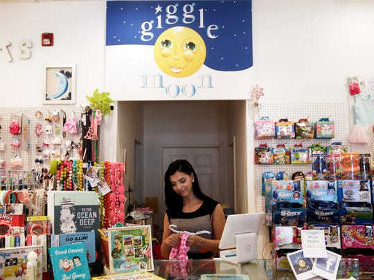 Creative Director Oriana Di Vito, 22, works at Giggle