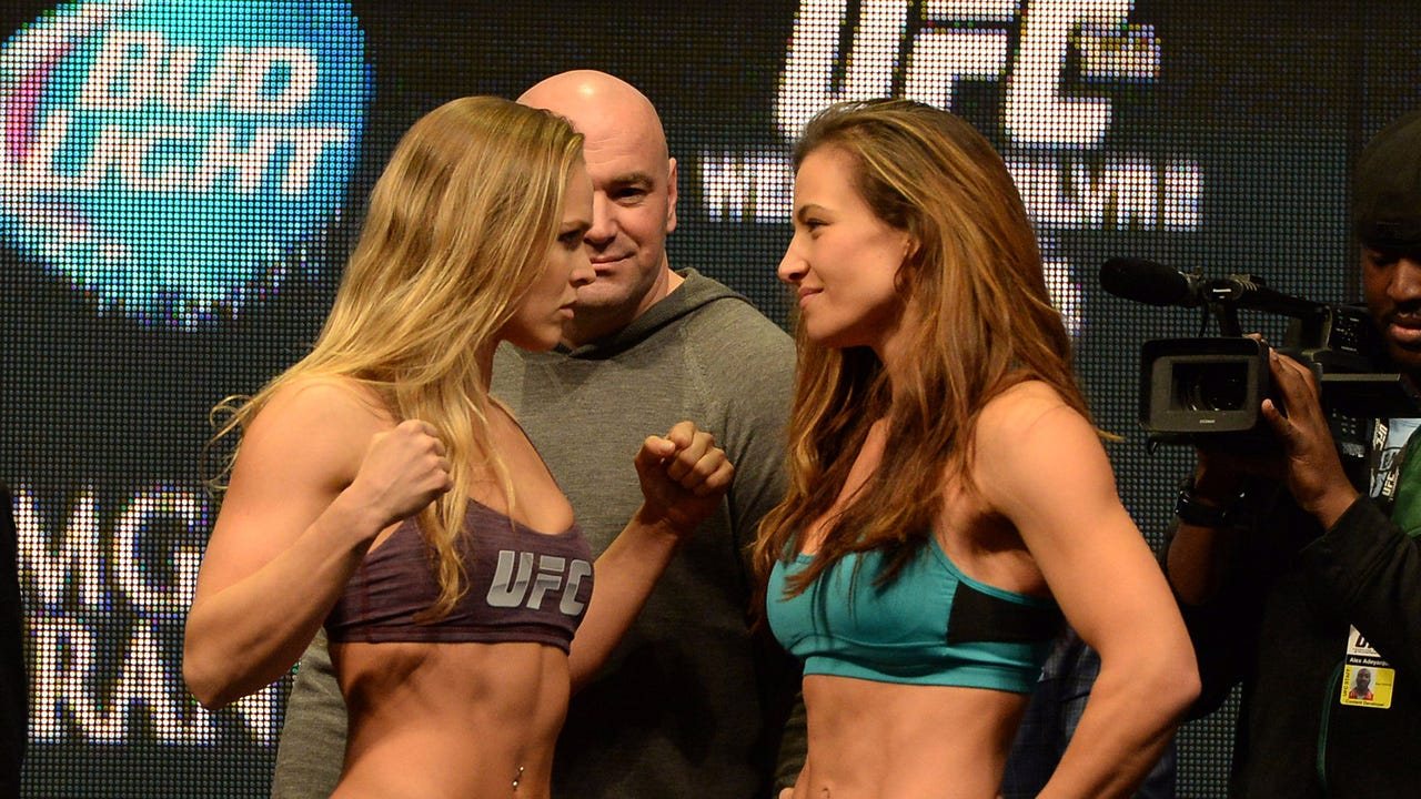 MMAjunkie's Ben Fowlkes breaks down what to expect in the lead-up to the third fight between Tate and Rousey.