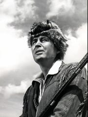Fess Parker as Davy Crockett.