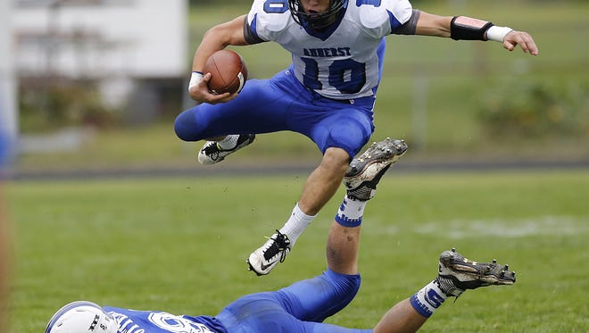 Amherst seeks its second WIAA Division 5 state championship when it meets Spencer/Columbus Catholic in the state title game at 4:05 p.m. Thursday at Camp Randall Stadium in Madison. Amherst looks to stay unbeaten when it takes on Manawa on Friday.