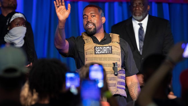 Kanye West will not appear on the ballot as an independent candidate for president due to mismatched paperwork, Ohio's top elections officials said Friday.