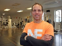 Jeff Castaldo of Nyack Fitness is photographed in the gym in Nyack on Jan. 23, 2016.