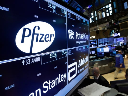 pfizer merger