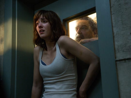 Mary Elizabeth Winstead and John Goodman in '10 Cloverfield
