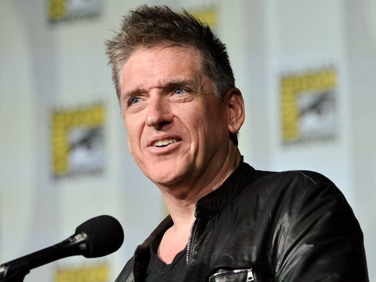 Craig Ferguson speaks on stage at Comic-Con on July 25, 2014, in San Diego.