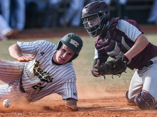High School Baseball: Astronaut at MCC