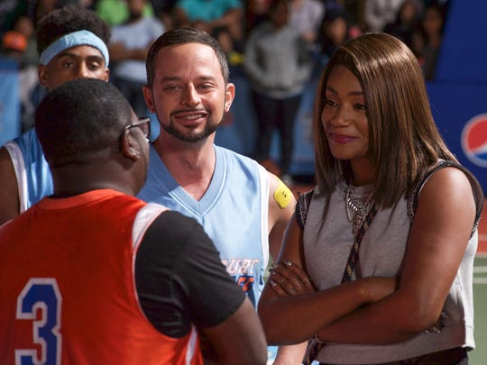 "Nick Kroll and Tiffany Haddish star in ""Uncle Drew."""