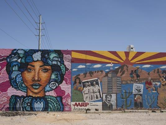 Downtown Phoenix Murals
