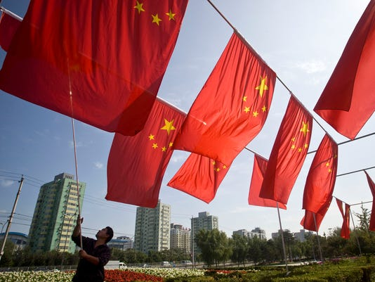AP APTOPIX CHINA ANNIVERSARY I CHN
