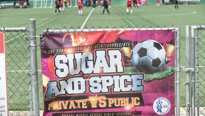 The 13th Annual Sugar and Spice Middle School Girls Soccer Festival is set for March 8. PDN file photo